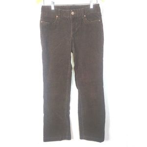J Crew Brown Corduroy Jeans Womens 4S Favorite Fit